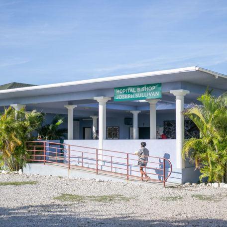 Bishop Joseph Sullivan Center Hospital in Haiti in July 2020.