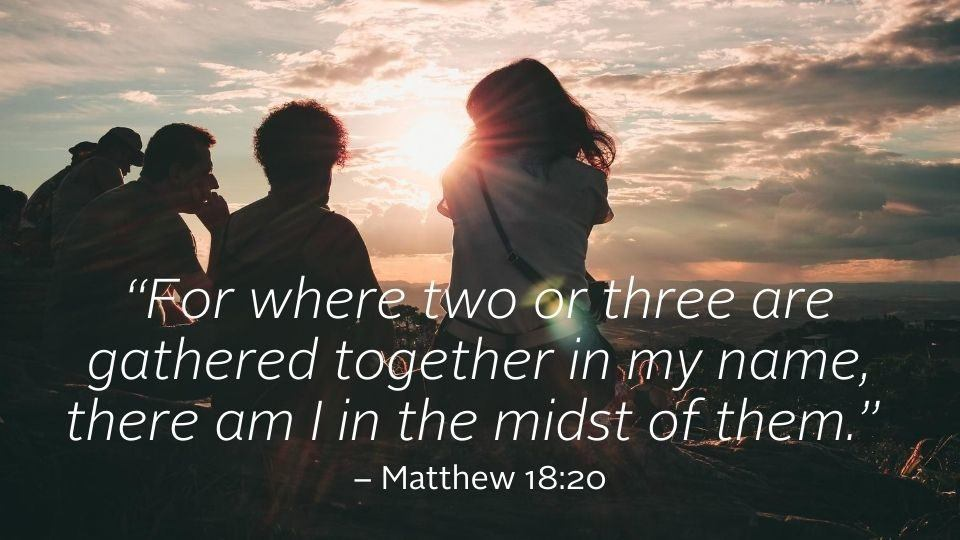 weekly reflection image matthew quote