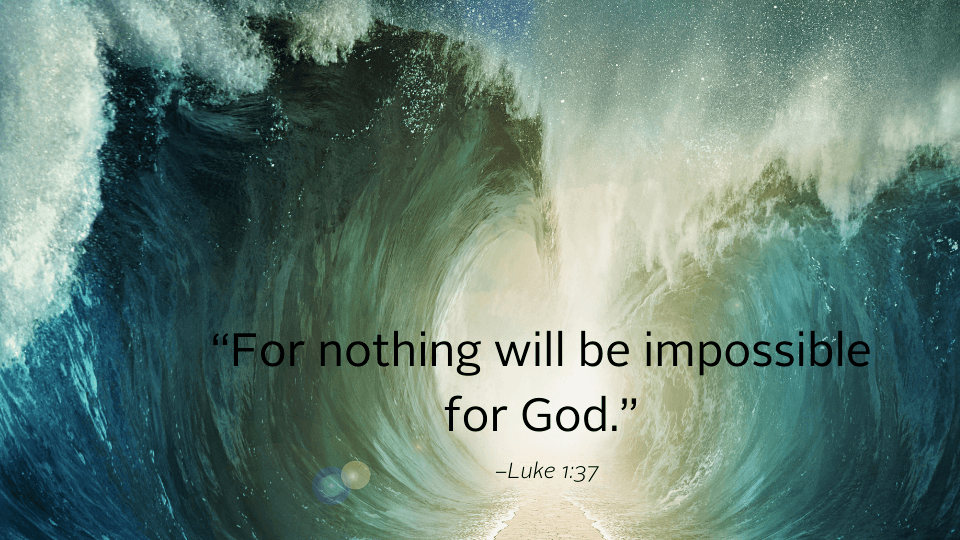 waves and bible quote for weekly reflection
