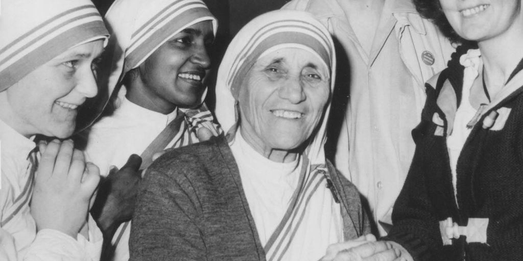 Mother Teresa in 1980
