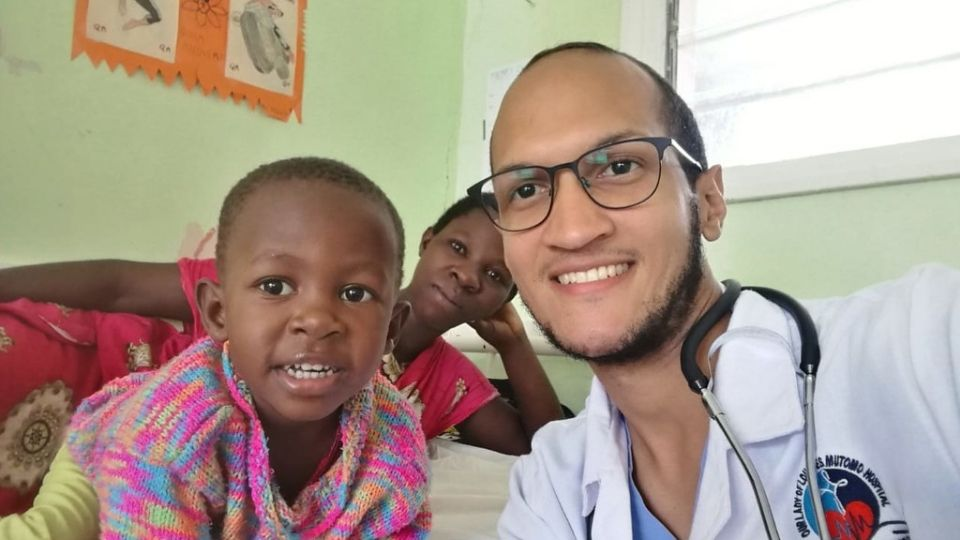 Dr. Jose takes at the Mutomo Mission Hospital in Kenya in 2019