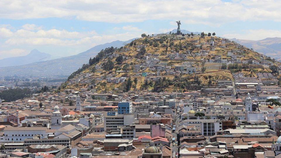 Ecuador cityscape