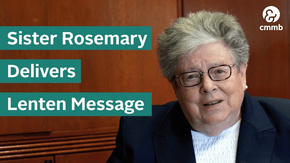 sister rosemary lent message title image