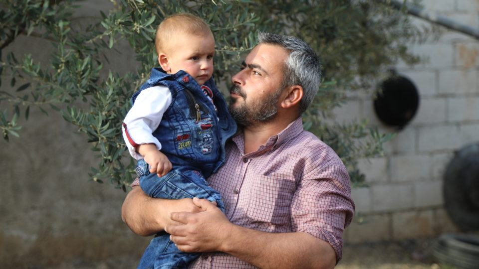 syrian father and son