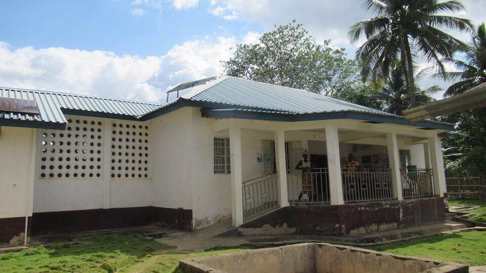 Sahn Health Center in Sierra Leone