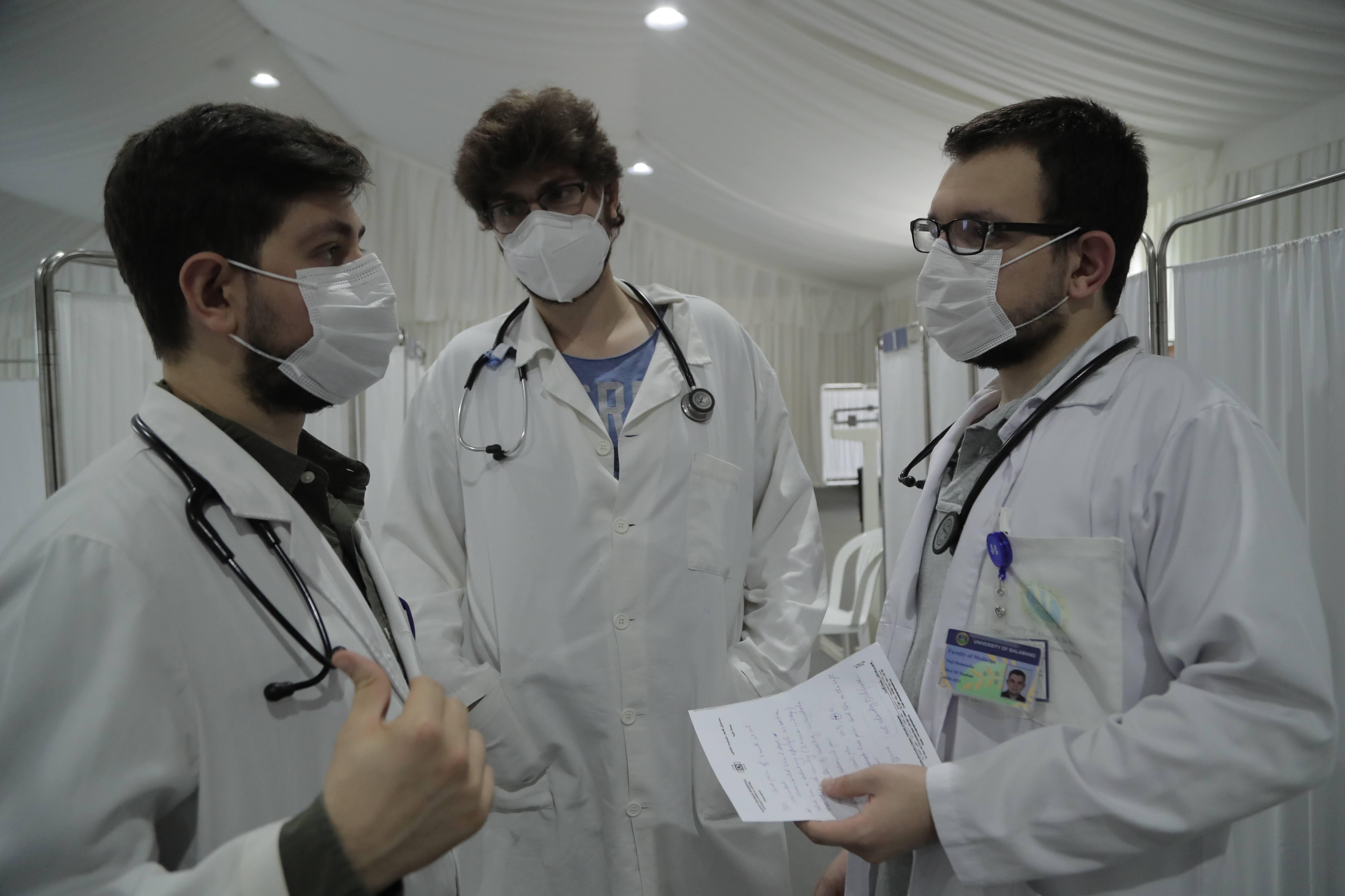 doctors at St. George Hospital