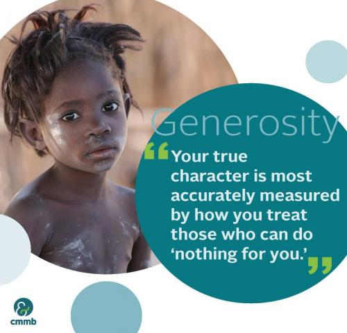 Mother-Teresa quote_Generosity_Your-true-character-is-most-accurately-measured