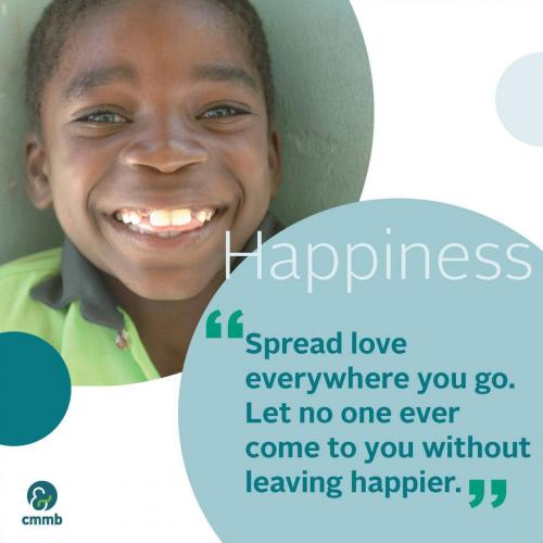Mother Teresa quote_Happiness_Spread love everywhere you go