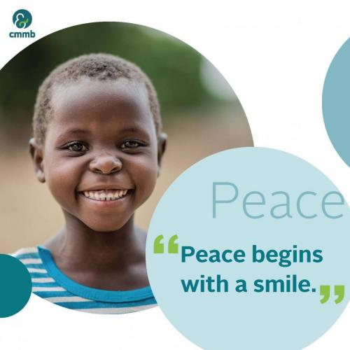 Mother Teresa quote_Peace_Peace begins with a smile