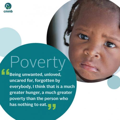 Mother Teresa quote_Poverty_Being unwanted, unloved,uncared for