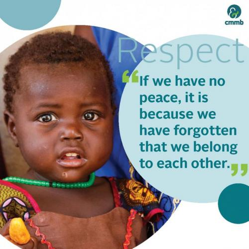 Mother Teresa quote_Respect_If we have no peace, it is beacause we have forgotten