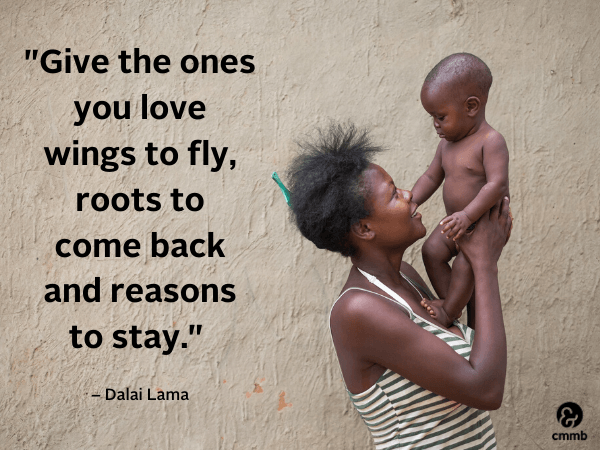 Give the ones you love wings to fly...