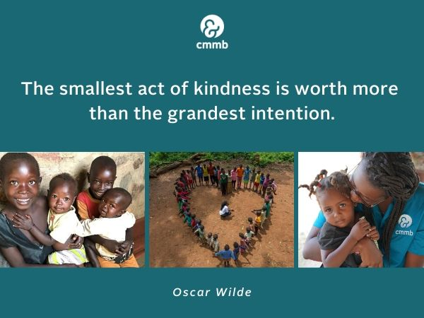 """""""The smallest act of kindness is worth more than the grandest intention."""" -Oscar Wilde"""
