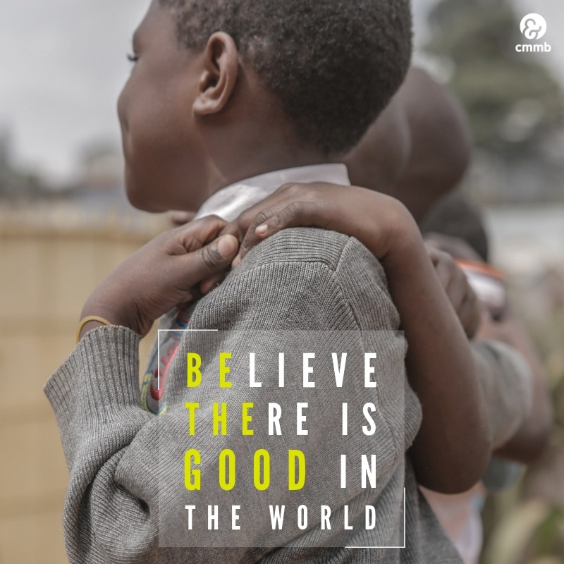 Sunday Inspiration - April 14 Quote: Believe there is good in the world.