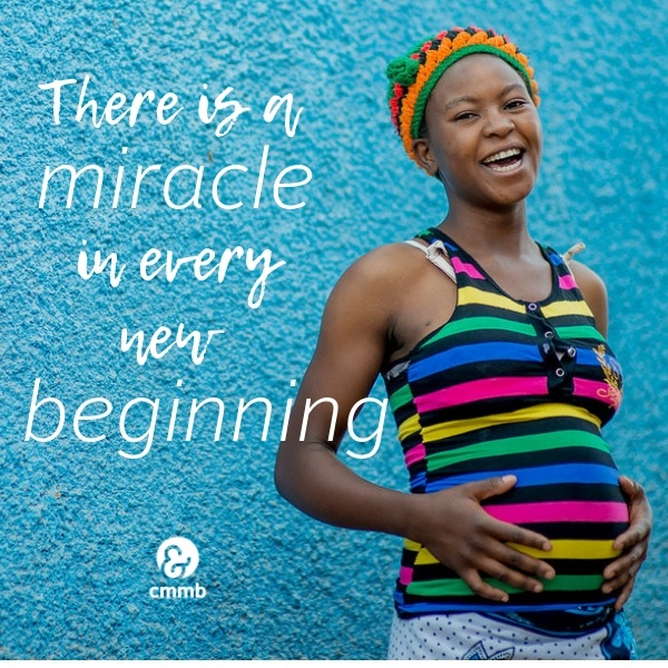 There is a miracle in every new beginning.