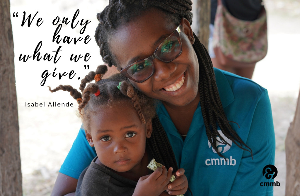 We only have what we give. -Isabel Alende