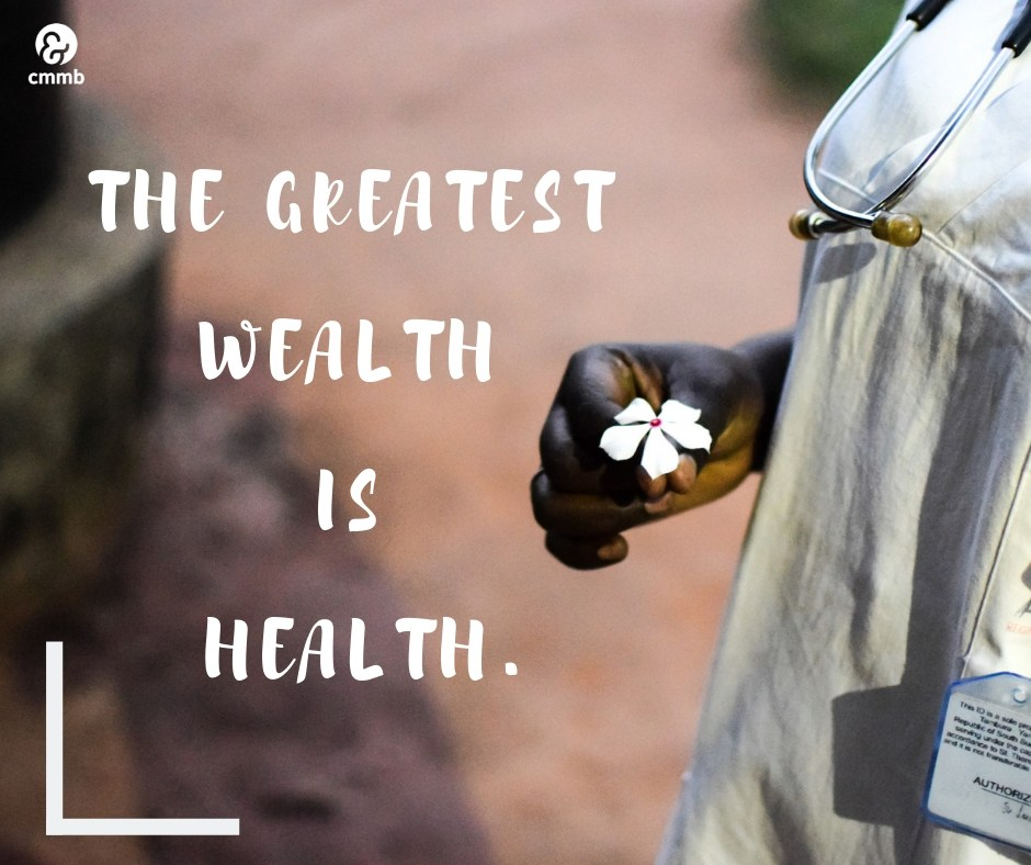 Sunday Inspiration - April 7. Quote: The greatest  wealth is health.