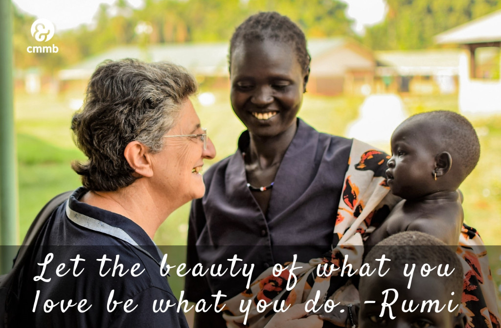 Let the beauty of what you love be what you do. -Rumi