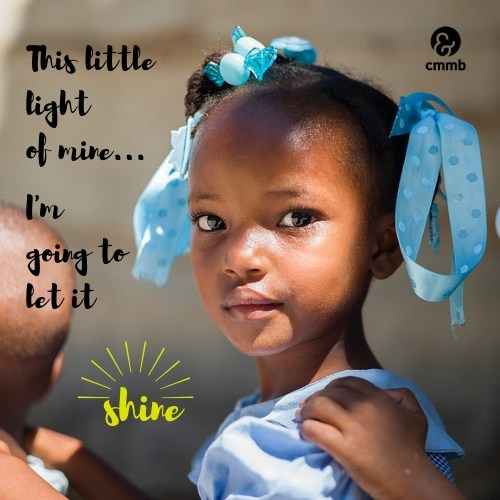 This little light of mine, I'm going to let it shine.