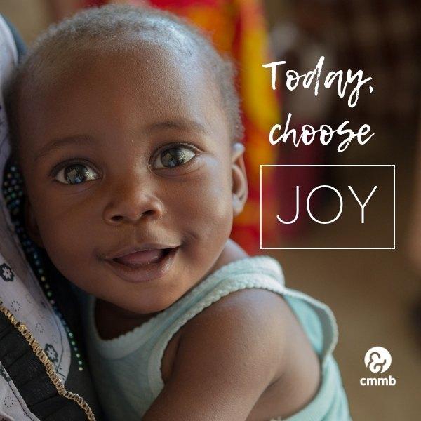 Today, choose JOY.