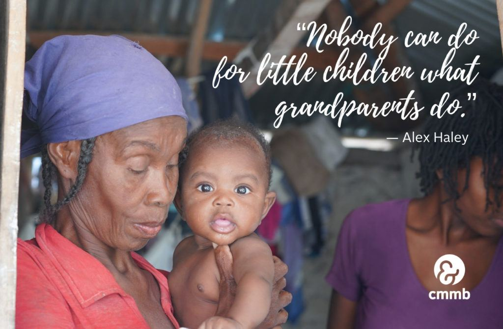 Nobody can do for little children what grandparents do.