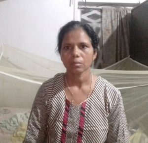 Chitanya lost her mother and father in the floods of Kerala, India