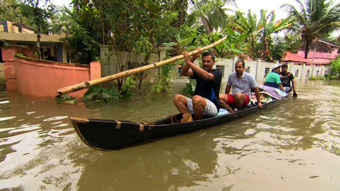 Houses flooded and families are forced to leave everything behind.